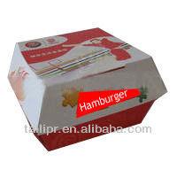 Exported Hamburger packing box / food packaging box *FB20130811-4