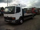 04 mercedes 1218 atego 12 ton 22ft flat truck