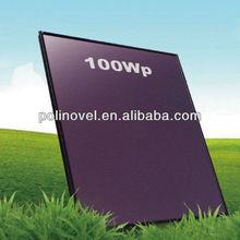 flexible thin film solar panel 100W 96VDC