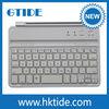 Best Wholesale Ultra slim flat aluminum bluetooth keyboard with micro usb port