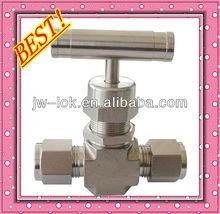 ss316 needle valve flow control manufacture