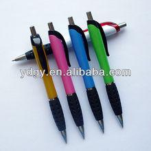 Promotional rubber grip pen souvenir