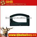 elegante diseño de hierro fundido hornear puerta del horno