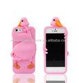 carino 3d animale a forma di telefono cellulare in silicone caso per apple iphone