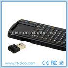 Best quality Gtide 2.4G RF wireless keyboard mouse combo