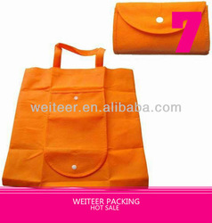 Promotional Foldable Recycle Bag With Snap Button
