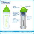 C- preços competitivos diercon garrafa com água da torneira de plástico mini- garrafa alta qualidade purificação authoritated pela wqa( pb01- 04)