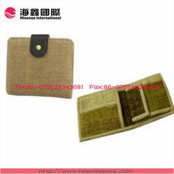 Natural jute wallet wholesale