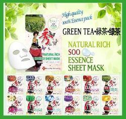 Korea Facial Sheet Mask _Green Tea