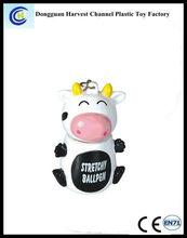 Promotional cartoon animal extendable ballpen,animal stretchy ballpen