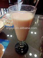 Milk beverage with fruit juice formula