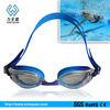 2013 Fashion silicone custom sport swimming glasses