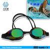 2013 Fashion silicone custom diving swimming glasses