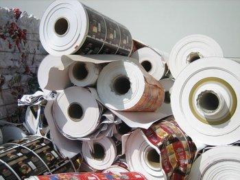 Printed Paper stock lots