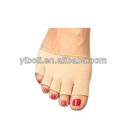 Western style Lovely unisex Fashion free toe stocking toe separate pure cotton socks