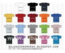 Baju T-Shirt Kosong Murah