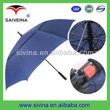 fiberglass golf umbrella 30 inches 8k double layer auto open windproof umbrella