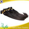 caliente venta de alta calidad negro natural de malasia virgen del pelo recto
