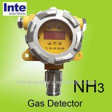 Wall mounted NH3 leak detector AMMONIA Sensor gas toxicity