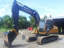SURPLUS 0.65m3 HYUNDAI R1300LC-3 1996/97 YEAR MODEL BACKHOE/EXCAVATOR WITH PACKAGE