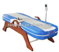 thermal jade stone massager single neck roller massage bed