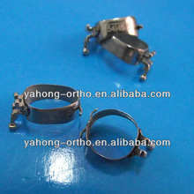 dental orthodontic molar band with lingual cleat