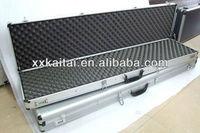 Plastic panel gun case with handle for sporting gun