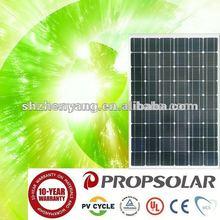 100% TUV Standard High Quality 230W export hybrid solar panel