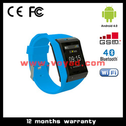new watch phone 2013 Android 4.0 Smart Watch Phone with wifi and touch screen