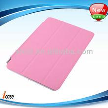 Smart cover for ipad mini leather case. for ipad mini case