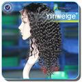 afro brasileira cabelo encaracolado curto perucas cheias do laço para as mulheres negras
