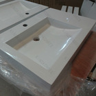 Solid surface vanity wash hand basin wash basin pictures