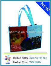 non woven shopping bag/eco tote bag with uv printing