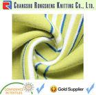 yarn dye stripe single jersey knit fabric