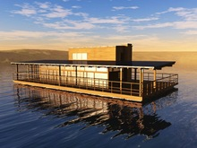 luxury SOLAR POWERED sailing catamaran