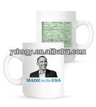 Obama Chief Executive USA Porcelain Magic Mugs