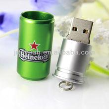 Bulk 2GB USB Flash Drives Drink Can USB Gadgets 2013