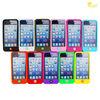 assorted colors silicone smart bean case for iPhone 5
