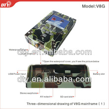 "2.5"" TFT sporty DVR with GPS funciton(optional) for police, body guard and outdoor activities"