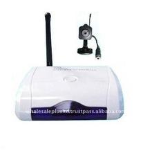 WIRELESS PINHOLE COLOR CAMERA WITH USB RECEIVER/RECORDER(WL-24USBPH)