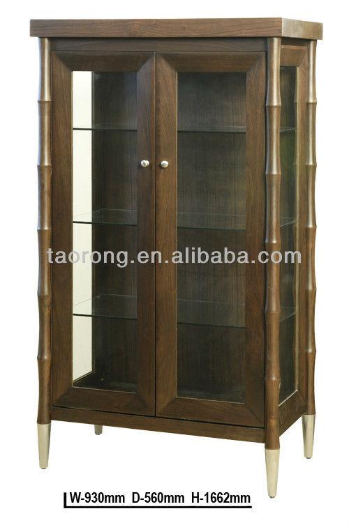 holzrahmen tür glas wein rack tr6774 und regaleAndere Holzmöbel