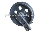 kobelco construction machinery parts for sale ,volvo excavator front idler