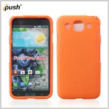 rubber moblie phone cover case for LG E980 /Optimus GK