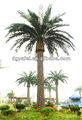 tipos de plástico palmeira artificial para a decoração