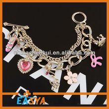 2014 china fashion Bracelet set,Bracelet jewelry,jewel bracelet bangle american flag shamballa bracelet