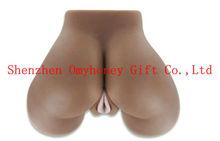 2013 Hot Sale Male Sex Doll Vagina Ass Sex 100% Silicon Love Doll Black Color 2.5kg Male Masturbator Toys for Men