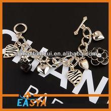 2014 china fashion Bracelet set,Bracelet jewelry,jewel bracelet bangle black+cord+skull+bracelet