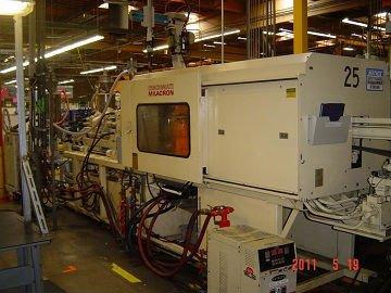 Cincinnati milacron máquina de moldeo por inyección