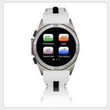 High definition Touch GSM GPRS Quad band Waterproof Sport Watch Cell Phone Shining Collection Wholesale