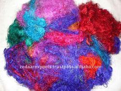 Sari silk waste